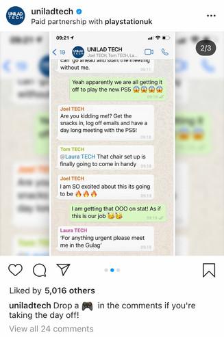 UNILAD Tech - WhatsApp Group
