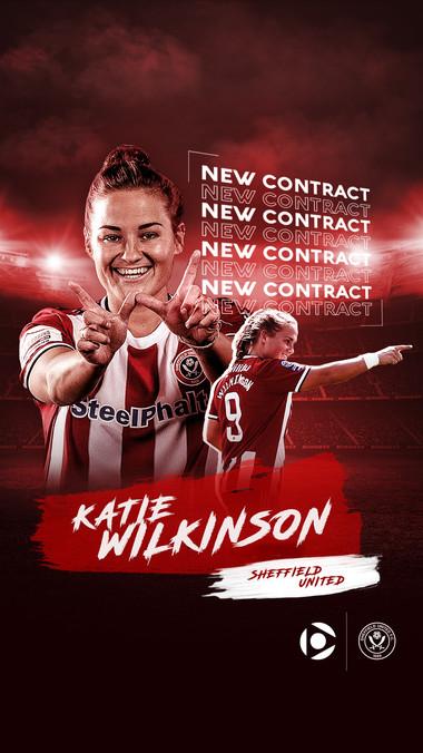 CODA   Katie x Sheffield Utd  - New Contract IG Story
