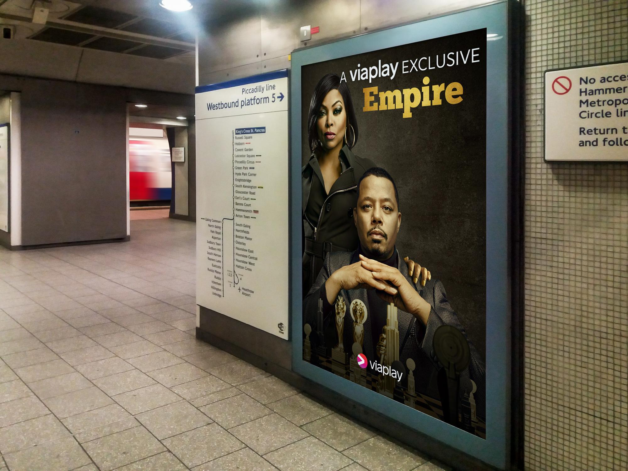 Digital Poster - Tube Advertising #3