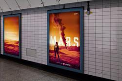 Digital Poster - Tube Advertising #1