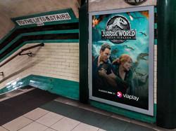 Digital Poster - Tube Advertising #2