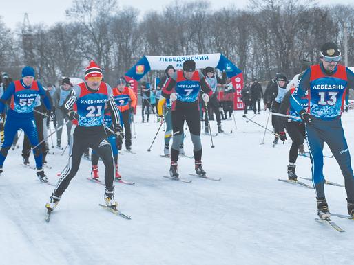 Лыжные гонки с ветерком