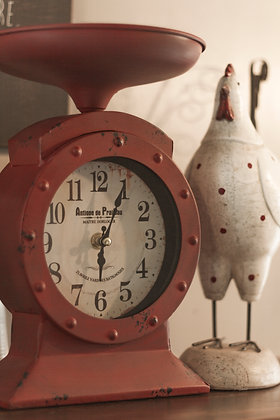 Red Clock scales