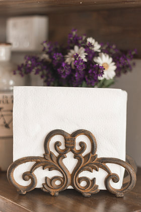 French Country Napkin Holder