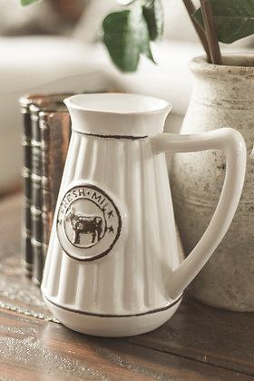 French Country Dairy Jug