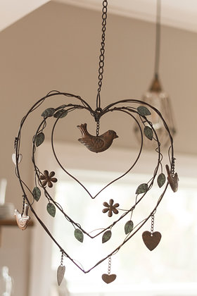 Rustic Heart  Ornament