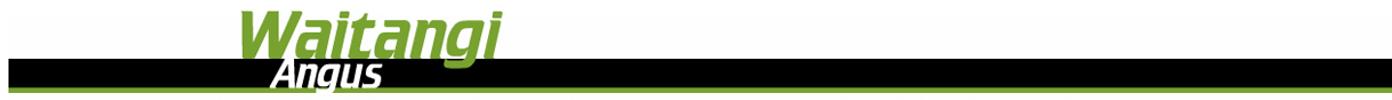 Waitangi Angus Logo
