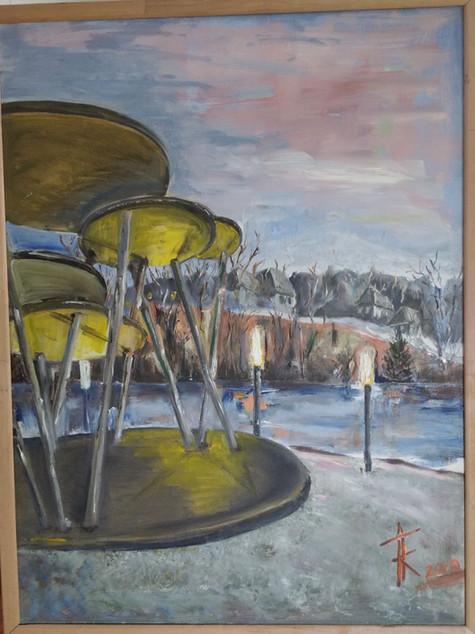 """#21 Tapybos paveikslas """"Amfiteatras"""""""