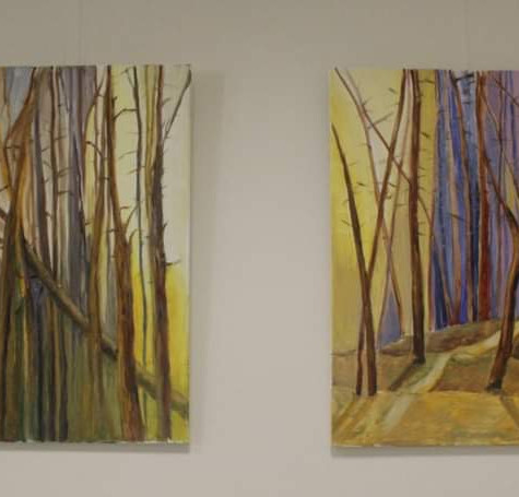 """#17 Tapybos paveikslai """"Saulėtam miške"""""""