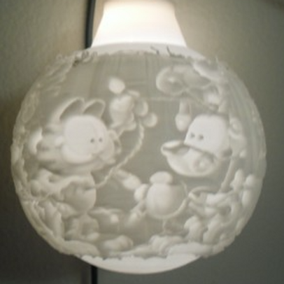 Garfield Lithophane