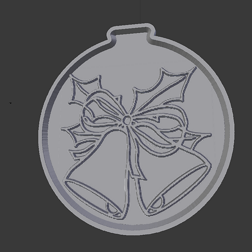 Holiday Bells Lithophane