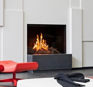 Faber Matrix I Single Sided Gas Fireplac