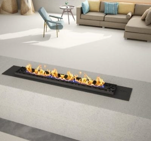 Vent Free Flueless Gas Fireplace with Pe