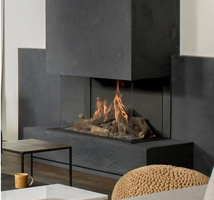 Faber Matrix III Three Sided Gas Firepla