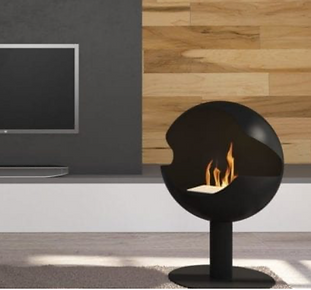 Umlilo Freestanding Bioethanol Fireplace