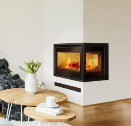 Lacunza Adour CLD Two Sided Fireplace.pn