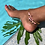 Thumbnail: Rich Rhodonite Anklet