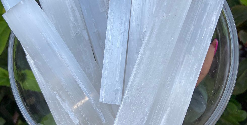 Selenite Crystal Wand