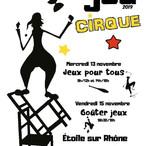 affiche semaine jeu automne 2019 cirque.