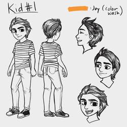 Animated Short Film_Character Sheet 2