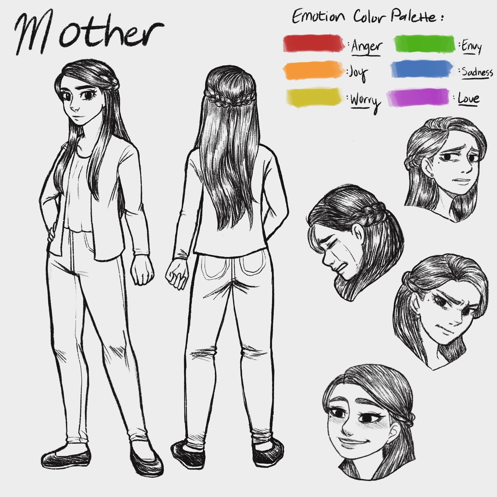 Animated Short Film_Character Sheet 1