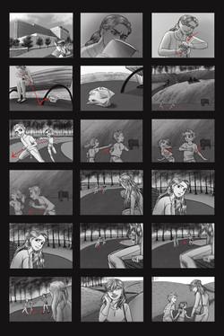 Animated Short Film_Storyboard Set 1