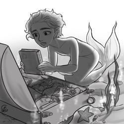 Original Merman Comic_Story Art 4