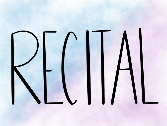 Recital Checklist 2019