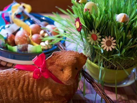 Bezlepkový velikonoční beránek