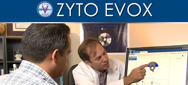 ZYTO EVOX scan UK