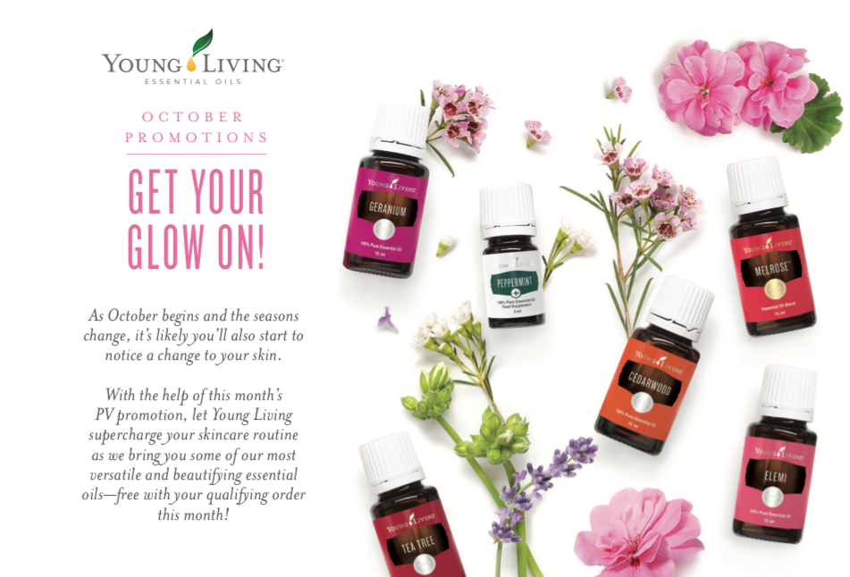 Young Living October 17 Promo