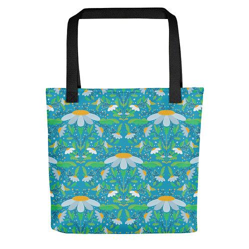Wild daisies flowers fashionista summer woman Tote bag