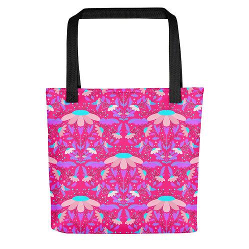 Summer daisy beach woman Tote bag