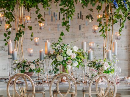 Vintage Industrial Shoot with WedLuxe Magazine