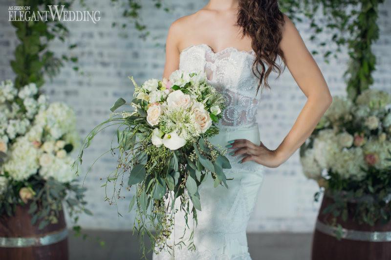 elegant-wedding-mint-green-wedding-ideas-greenery6