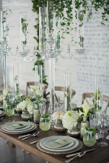elegant-wedding-mint-green-wedding-ideas-greenery11