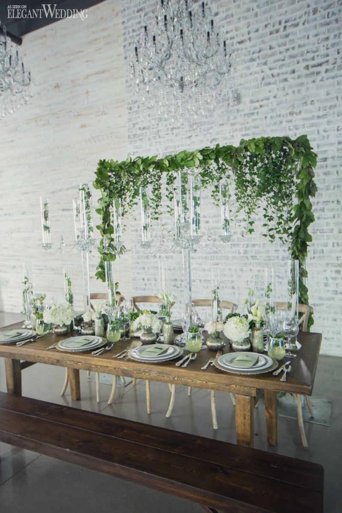 elegant-wedding-mint-green-wedding-ideas-greenery13