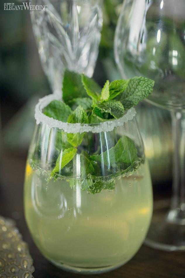 elegant-wedding-mint-green-wedding-ideas-greenery15