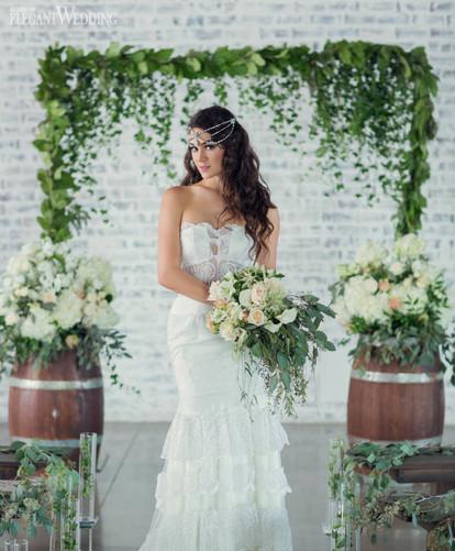elegant-wedding-mint-green-wedding-ideas-greenery