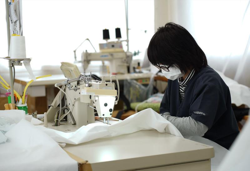 ●空手衣縫製