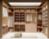 Custom Master Closet Built-Ins