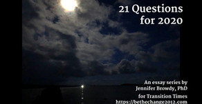 21 Questions for 2020 Engagement Stream