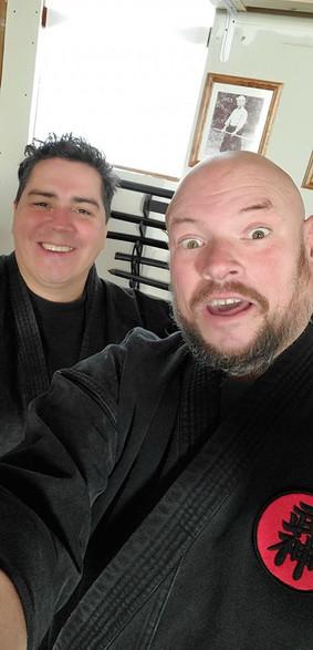 Shidoshi Abraham Hinojosa and Eric