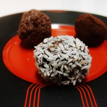 Truffes de noel / sjokolade boller