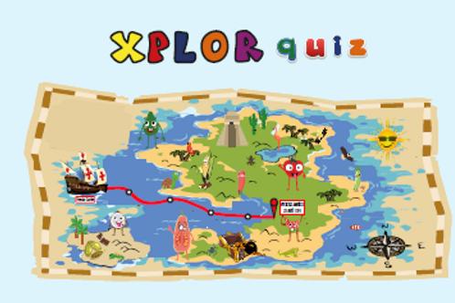 Buy one extra deck of Xplor Quiz cards