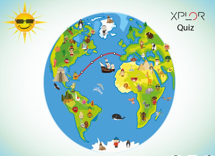 My box of Xplor Quiz