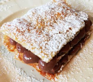 Napoleon cake skokoladekrem                     ( mille feuilles )