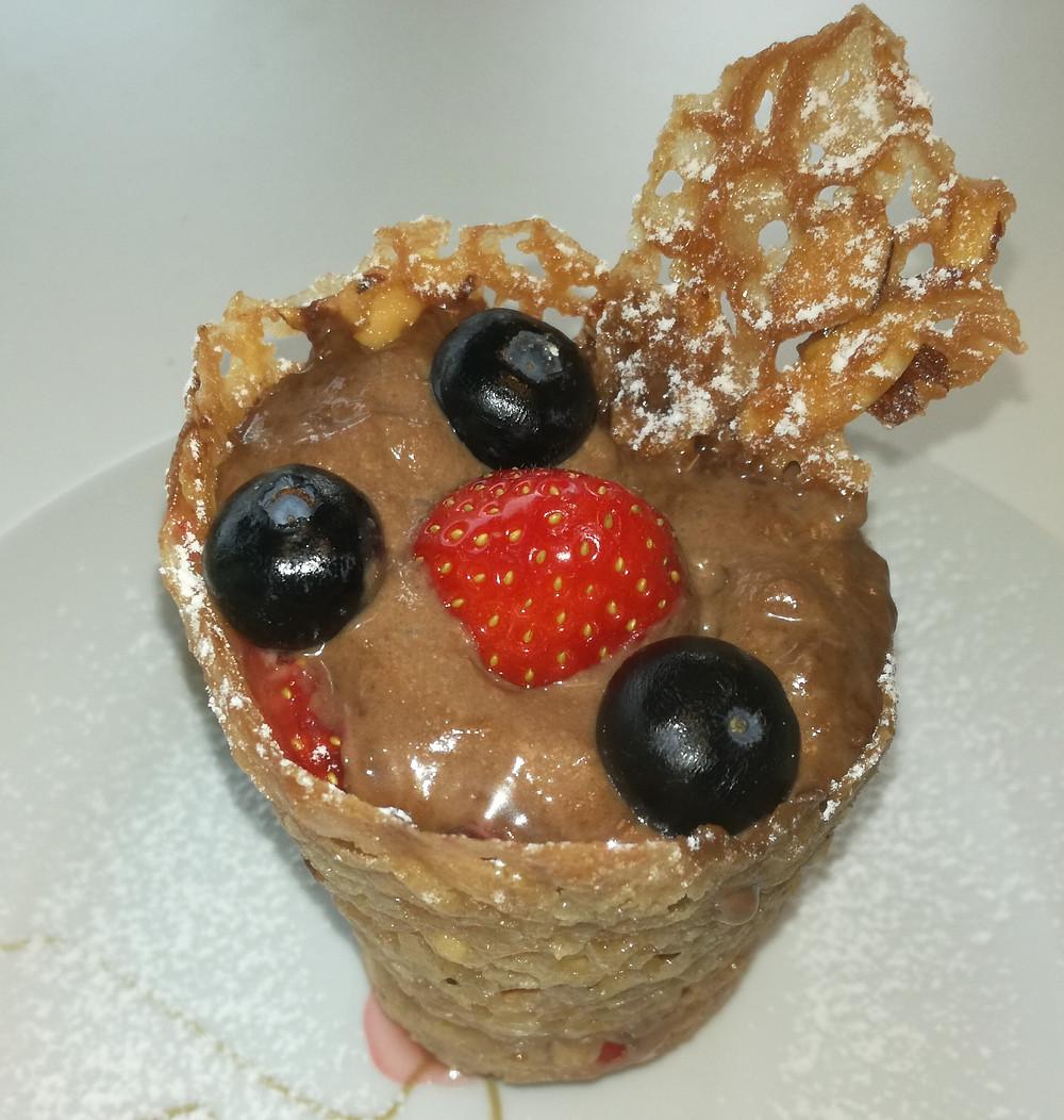 Mousse chocolat légère au siphon