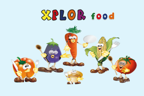 Buy one extra deck of  Xplor food playing cards