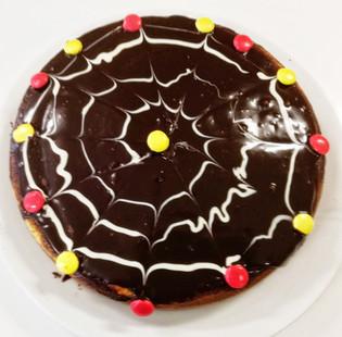 Spider net sjokolade kake